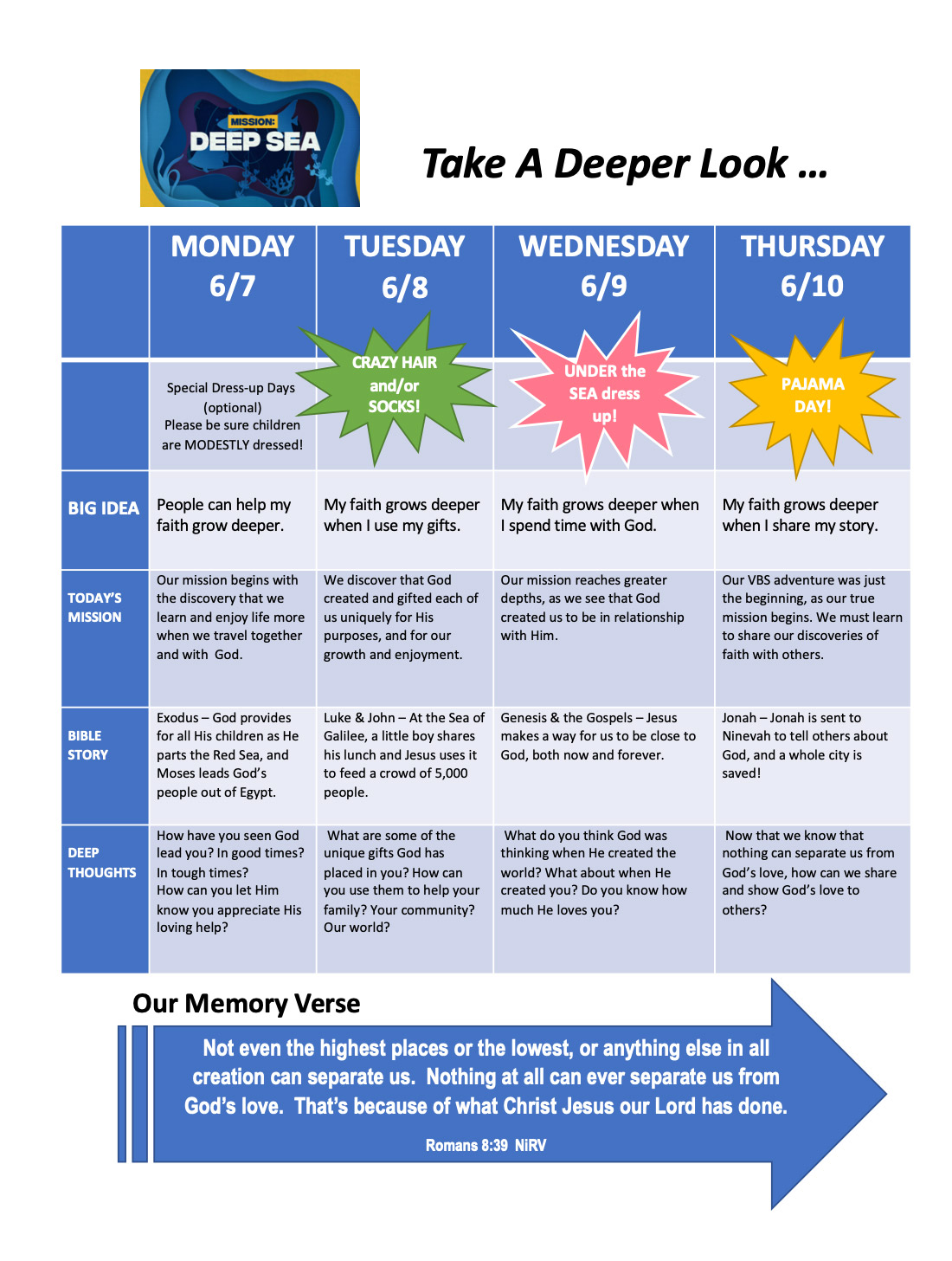 VBS 2021 newsletter page 2